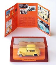 VOITURE CAR TINTIN SERIE 2 ATLAS N°10 VOITURE ACCIDENTEE CRABE AUX PINCES D'OR