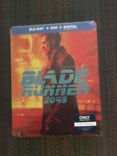 Blade Runner 2049 (Blu-Ray-Dvd Steelbook) Best Buy Exclusive- Factory Sealed