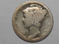 Key AG 1921 US Mercury Dime.  #31