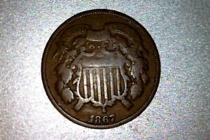 1867 Two Cent - USA   #A046