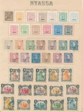 D149290 Nyassa 1898-1924 collection MH + VFU on Pages