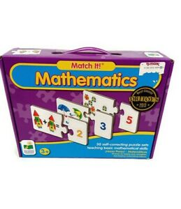 Match It! Mathematics Puzzle Set Game Complete Set