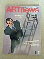 1986 ARTnews MAGAZINE Art News Picasso's Sketchbooks Georgia O'Keeffe Memorial