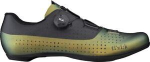 Fizik R4 Tempo Overcurve Iridescent Mens Road Cycling Shoes - Green