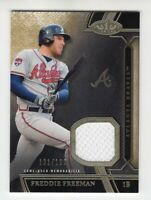 Freddie Freeman 2015 Topps Tier One Game Used Jersey Card #'d /199 (Braves)