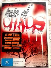 Taste Of Chaos (DVD, 2005) * USED *