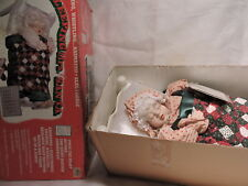 Vintage Animated Telco MOTION-ette motionette Electric mrs santa with tags
