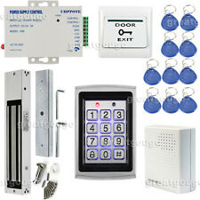 RFID Reader with Keypad Door Access Control System Magnetic Lock Power Supply