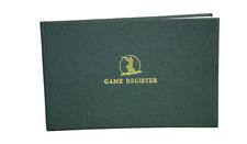 Bisley Shoot Game Register