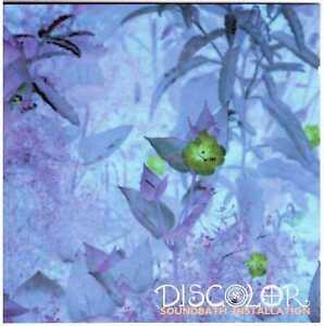 "DISCOLOR Soundbath Installation CD Psych/Experimental w/ Stefan ""Limo"" Lienemann"