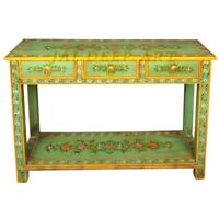 Wooden Garden Hand Painted Hardwood Solid Wood Console Table