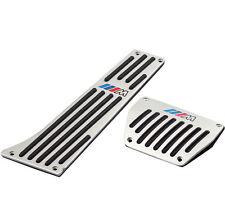 Pedalset Pedale Pedalkappen Set Automatik Aluminium für X3 X5 E46 mit logo