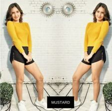 Tatiana Long Sleeve Top F1 (Mustard)