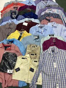 reseller mens shirts lot of 44 tommy hilfiger tasso elba charter club ret $1500