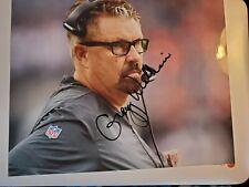 Gregg Williams signed 8x10 photo Head coach autographed