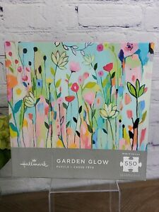 New Hallmark Garden Glow 550 Piece Puzzle Factory Sealed