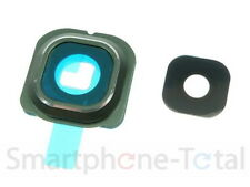 Samsung Galaxy S6 Edge SM- G925F Kamera Glas Linse Scheibe Rahmen Grün