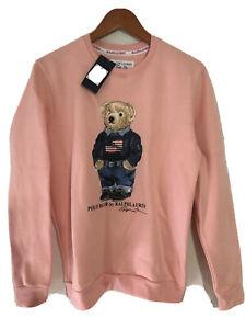 Polo Bear by Ralph Lauren Blue Jeans Crewneck Sweatshirt NWT Mens (M)