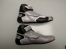 NEW - SPARCO Men's FORMULA RB-8 00123637SIN Silver/Black RACING SHOES - 11 / 44