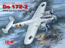 ICM 1/72 Dornier Do17 Z-2 WWII German Bomber # 72304