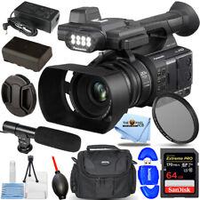 New ListingPanasonic Ag-Ac30 Full Hd Camcorder - Essential 64Gb + Uv Filter Bundle