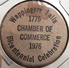 1976 American Bicentennial Wappingers Falls, NY Wooden Nickel - Token New York