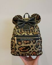 DISNEY PARKS LOUNGEFLY CHEETAH LEOPARD PRINT BACKPACK