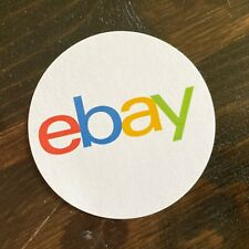 # 516 ebay sellers Colorful Round Packaging eBay-Logo Sticker Multi-Sizes