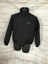 L. L. Bean Women's Black Warm-Up Fleece Lining Full Zip Jacket
