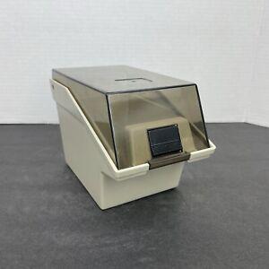 Vintage Floppy Disk Storage Case Beige