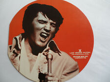 Elvis 1972 Original_Orange_Las Vegas Hilton Souvenir Menu_Ex+