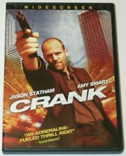 Crank DVD Widescreen.  Jason Statham, Amy Smart.