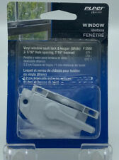 PLPCI Vinyl Window Sash Lock & Keeper F 2588 White