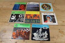 8 ältere Singles - diverse Klassik Schallplatten              /S127