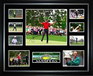 Tiger Woods 2019 Masters Champion Framed Memorabilia