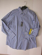 New $44.00 - APT.9 Designer Quality Men Plaid Shirt - Size: XL