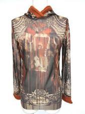 Jean Paul Gaultier Classique Net Top Sheer Vintage mesh Long sleeves Size 40