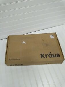 Kraus Oletto Single Handle Pull-Down Kitchen Faucet - Brushed Brass