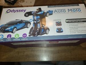 NEW AUTO MOTO VOICE TRANSFORMING ROBOT CAR BY ODYSSEY