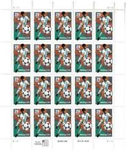 US SCOTT 2834 SOCCER PANE OF 20 STAMPS 29 CENTS MNH