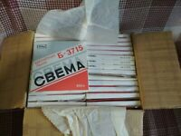 Authentic Lot of 30 used reel tu reel tapes from USSR