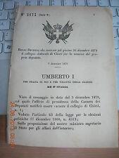 REGIO DECRETO 1879 CONVOCA COLLEGIO ELETTORALE DI CHIETI X  ELEZ DEPUTAT
