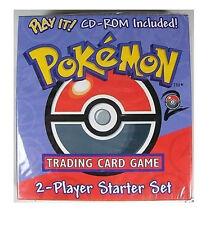 POKEMON BASE 2 SET STARTER SET DECK BOX! WITH CD! RARE!