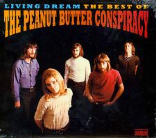 THE PEANUT BUTTER CONSPIRACY Living Dream: The Best Of CD NEW GARAGE SUNDAZED