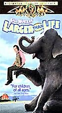Larger Than Life (VHS, 1997, Clamshell Family Treasures)