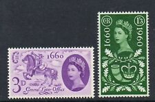 GB 1960 General letter Office MNH mint set stamps