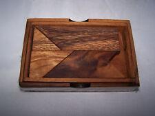 casse tête bois le tangram box