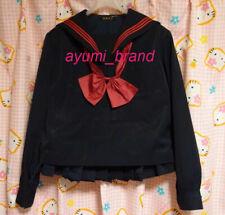 U5 ^_^Japanese SchoolGirl Uniform Winter! Red lines.  Perfect Condition.