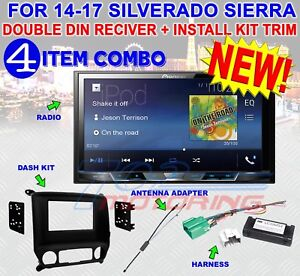 2014 - 2017 SIERRA SILVERADO PIONEER USB TOUCHSCREEN BLUETOOTH CAR RADIO STEREO