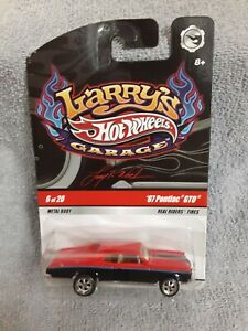 Hot Wheels Larry's Garage 1967 Pontiac GTO 1/64 Diecast Car Real Riders